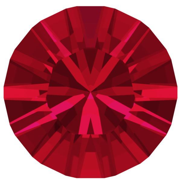 Swarovski 1028 XILION Chaton Scarlet PP11