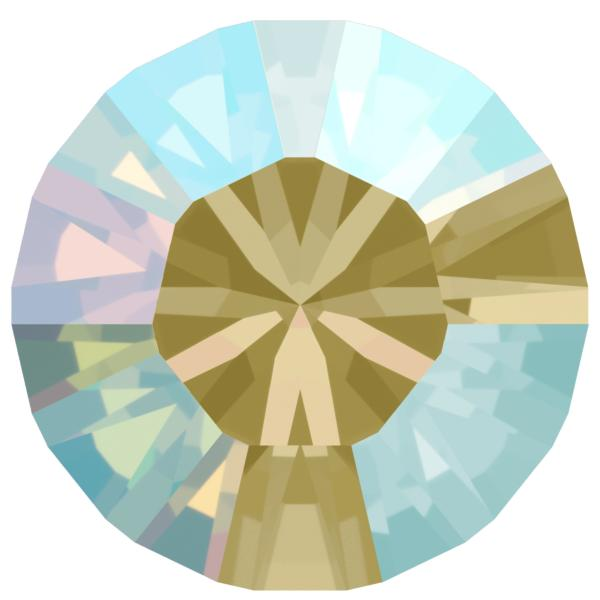 Swarovski 1028 XILION Chaton Black Diamond Shimmer PP9