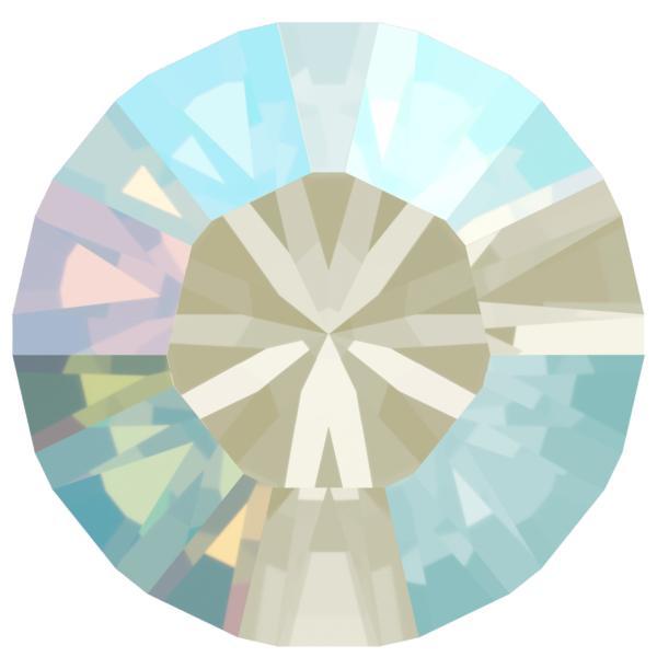 Swarovski 1028 XILION Chaton Light Sapphire Shimmer PP13