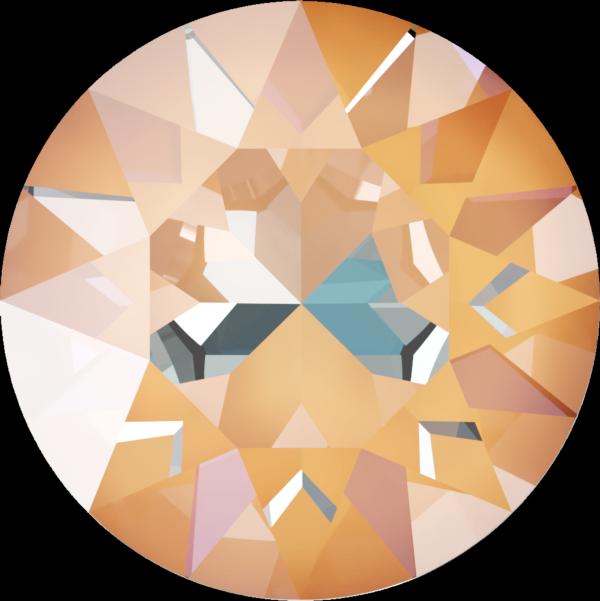Swarovski 1088 XIRIUS Chaton Crystal Peach DeLite SS39