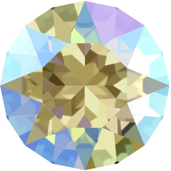 Swarovski 1088 XIRIUS Chaton Black Diamond Shimmer SS39