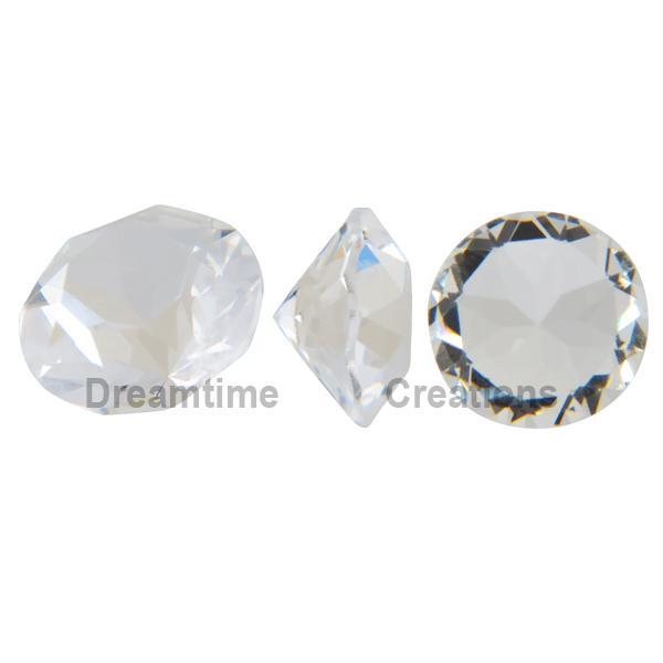 Swarovski 1028 XILION Chaton Crystal (Unfoiled) PP10