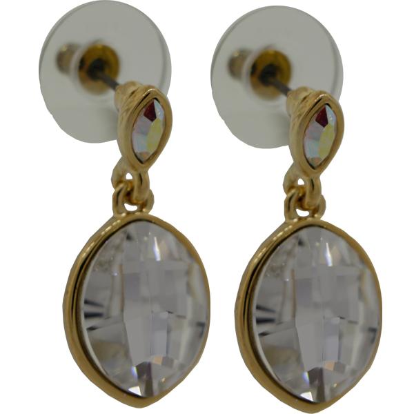 Earrings featuring fancy stones from Swarovski