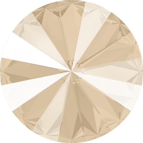 Swarovski 1122 Rivoli Round Stone Crystal Ivory Cream 12mm