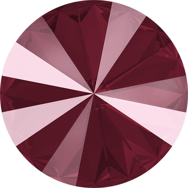 Swarovski 1122 Rivoli Round Stone Crystal Dark Red 12mm