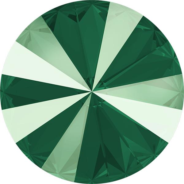 Swarovski 1122 Rivoli Round Stone Crystal Royal Green 14mm