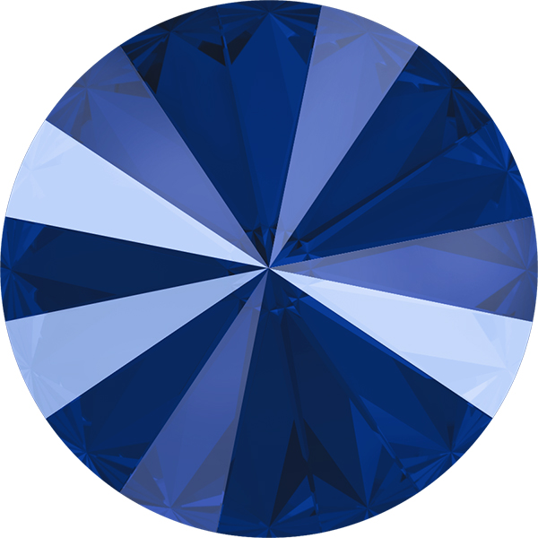 Swarovski 1122 Rivoli Round Stone Crystal Royal Blue 12mm