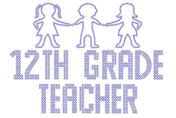 Iron On Transfer - TWELFTH GRADE TEACHER