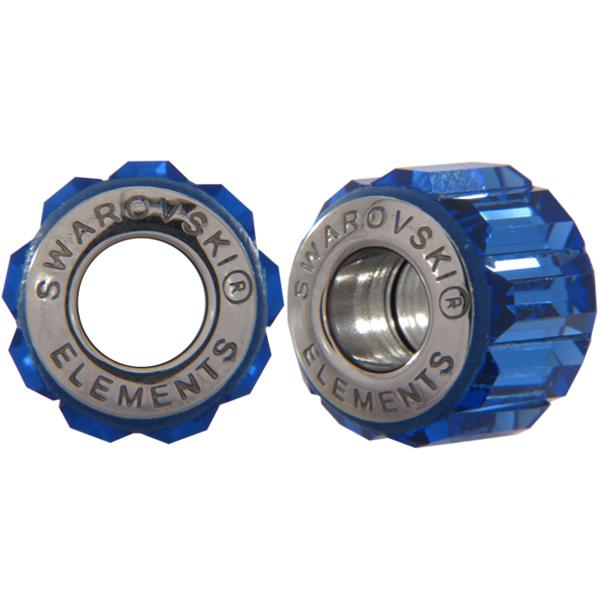 Swarovski 180301 BeCharmed Pave Beads 14mm sAPPHIRE