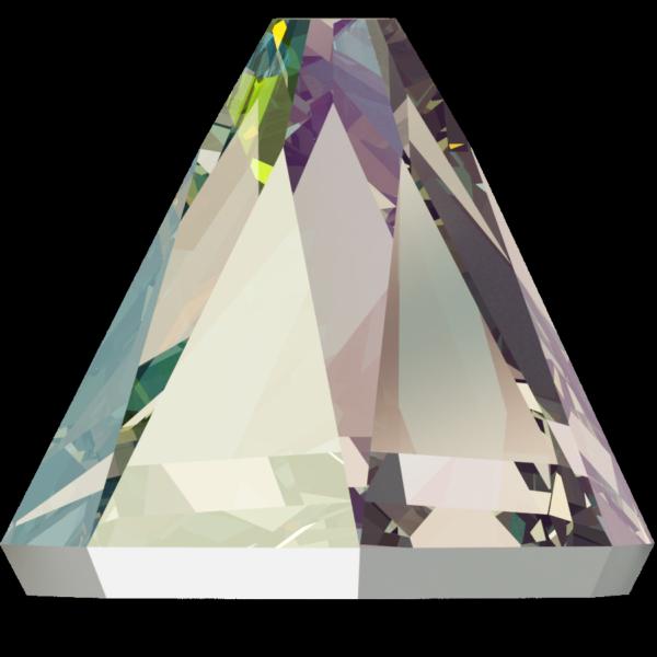Swarovski 2019 Round Spike Flat Back Black Diamond Shimmer 4mm