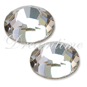 Swarovski 2000 Rose Flat Back Crystal SS3