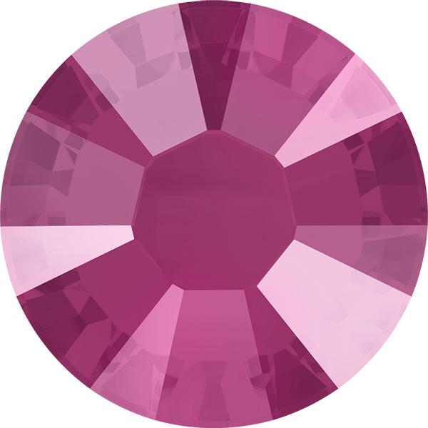 92e2539c5eae Swarovski 2038 XILION Rose Hotfix Crystal Peony Pink (Hotfix Transparent)  SS10
