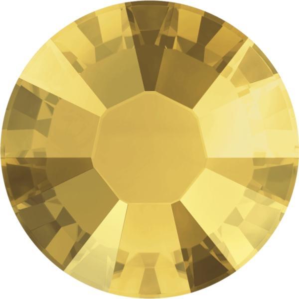 9399aa987afd0 Swarovski 2038 XILION Rose Hotfix Crystal Metallic Sunshine SS10