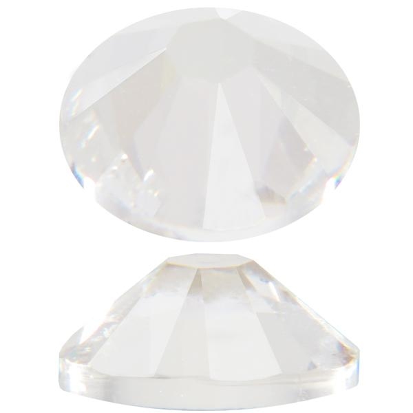 Swarovski 2058 XILION Rose Flat Back Crystal (Unfoiled) SS48