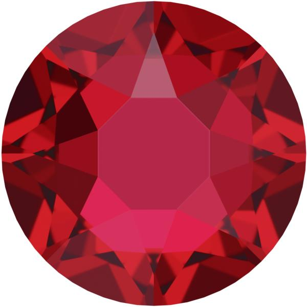 Swarovski 2078 XIRIUS Rose Hotfix Scarlet SS20