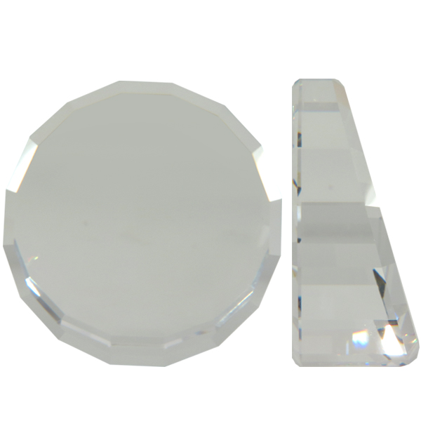 Swarovski 2085 Stage Cut Flat Back Crystal (Unfoiled) 40mm