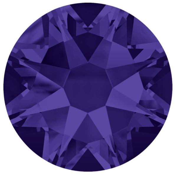 ec7fe496a Swarovski 2088 XIRIUS Rose Flat Back Purple Velvet SS12   Dreamtime  Creations
