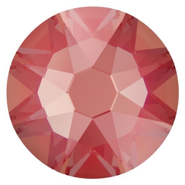 Swarovski 2088 XIRIUS Rose Flat Back Crystal Royal Red DeLite SS12
