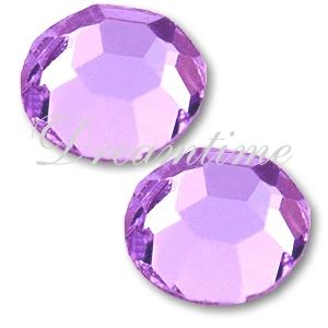 Preciosa VIVA12 Rhinestones Flatback MC Chaton Rose 10ss Violet