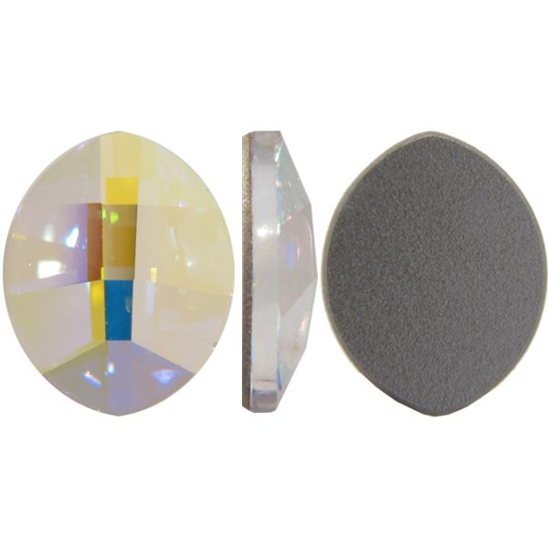2204 Swarovski® Flatback Crystals Non Hotfix Pure Leaf