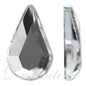 Swarovski 2300 Pear Shape Hotfix Crystal 10x6mm