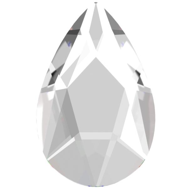 Swarovski 2303 Pear Shaped Flat Back Crystal 8x5mm