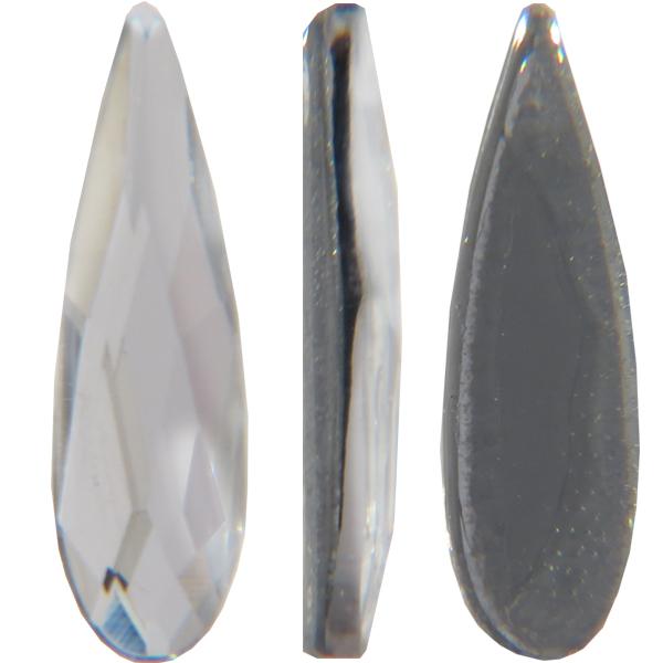 Swarovski 2304 Raindrop Hotfix Crystal 10x2.8mm