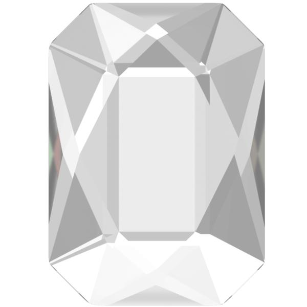 Swarovski 2602 Emerald Cut Hotfix Crystal 14x10mm