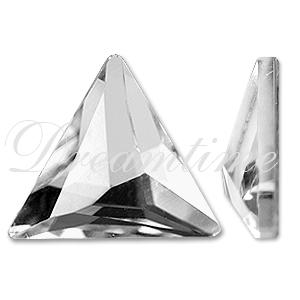 Swarovski 2720 Cosmic Delta Flat Back Crystal 7.5mm