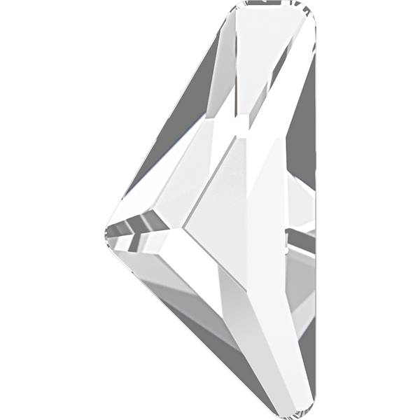 Swarovski 2738 Triangle Alpha Flat Back Crystal 12x6mm