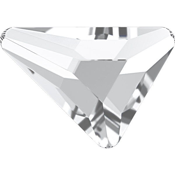 Swarovski 2739 Triangle Beta Flat Back Crystal 7x6.5mm