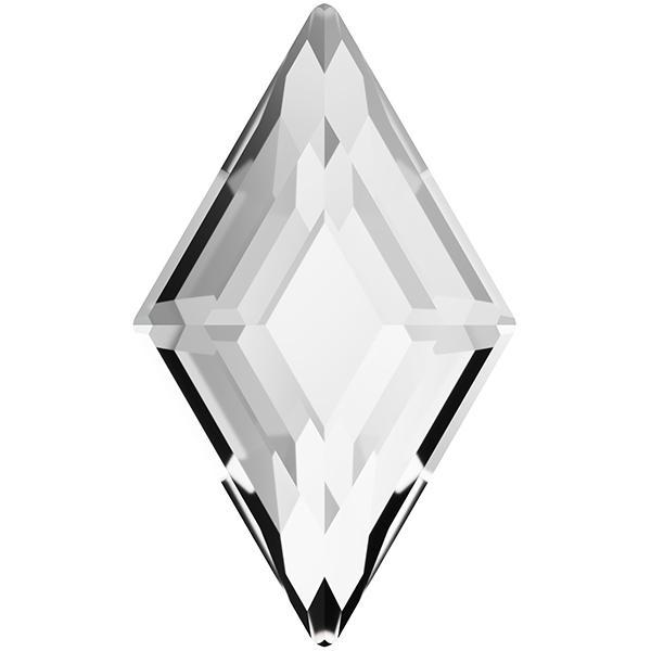 Swarovski 2773 Diamond Shape Flat Back Crystal 6.6x3.9mm