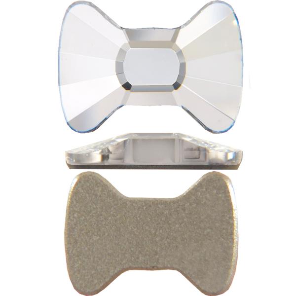 Swarovski 2858 Bow Tie Flat Back Crystal 12x8.5mm