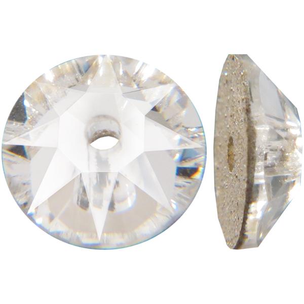 Swarovski 3188 Xirius Lochrose Crystal 8mm
