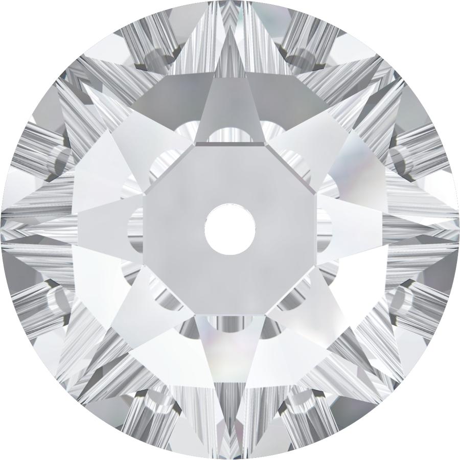 Swarovski 3188 Xirius Lochrose Crystal 3mm