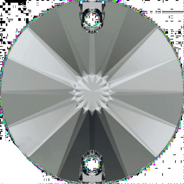 7da238f96 Swarovski 3200 Rivoli Sew-on Crystal Silver Night 14mm | Dreamtime Creations