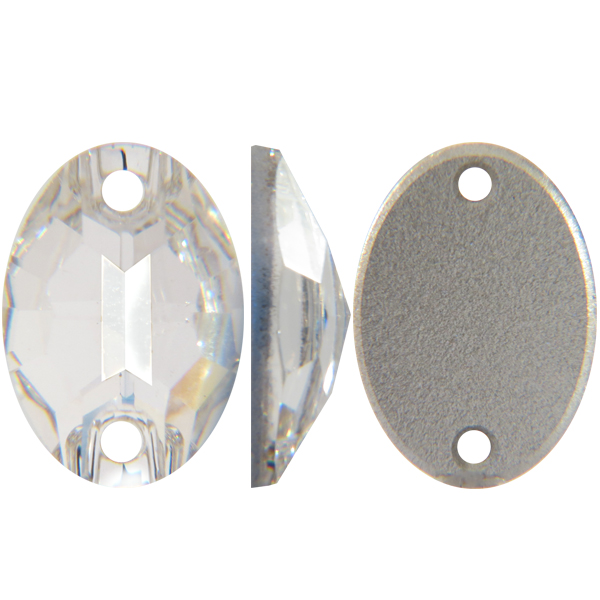 Swarovski 3210 Oval Sew-on Crystal 16x11mm