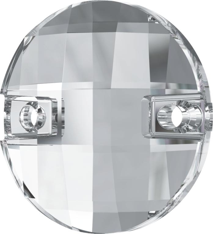 Swarovski 3220 Round Chessboard Sew-on Crystal 10mm