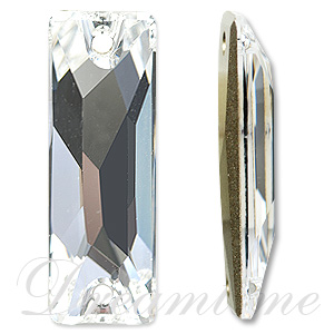 Swarovski 3255 Cosmic Baguette Sew-on Crystal 26x8.5mm