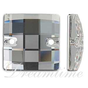 Swarovski 3293 Chessboard Sew-on Crystal 20mm