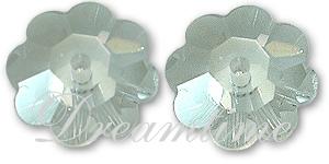 Swarovski 3700 Margarita Sew-on Crystal (Unfoiled) 8mm