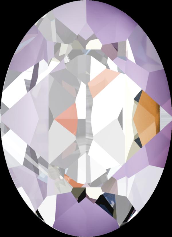 Swarovski 4120 Oval Fancy Stone Crystal Lavender DeLite 14x10mm