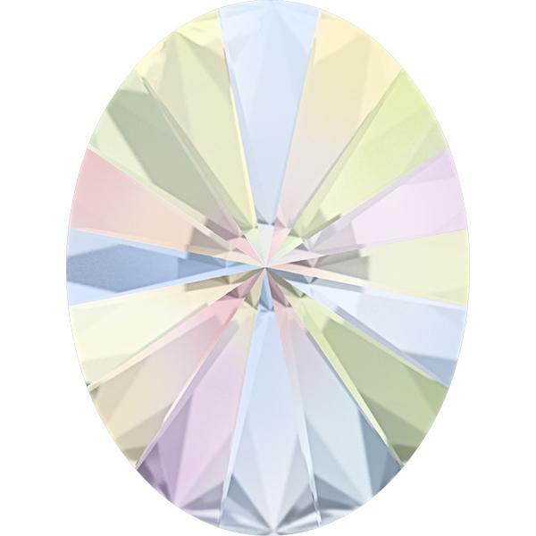 Swarovski 4122 Oval Rivoli Fancy Stone Crystal AB 8x6mm