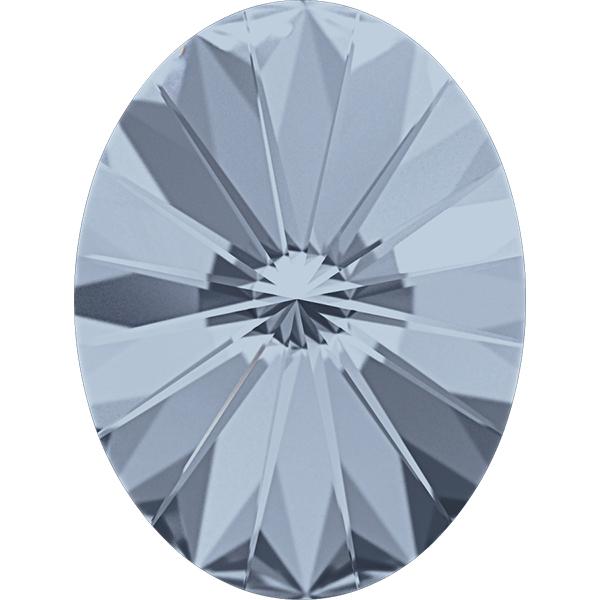 Swarovski 4122 Oval Rivoli Fancy Stone Crystal Blue Shade 8x6mm