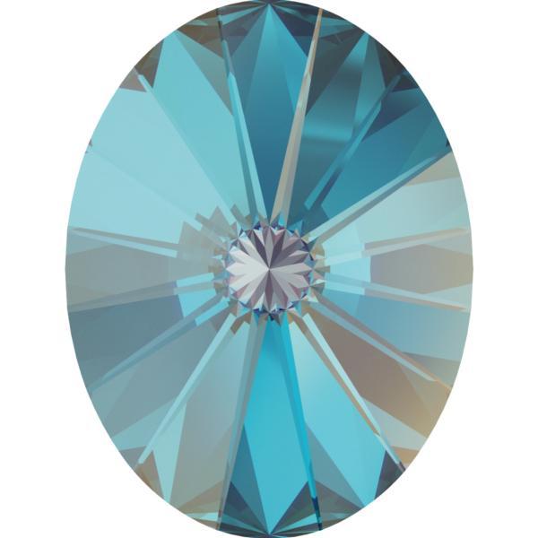 Swarovski 4122 Oval Rivoli Fancy Stone Crystal Royal Blue DeLite 18x13.5mm