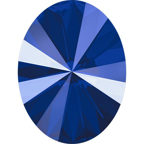 Swarovski 4122 Oval Rivoli Fancy Stone Crystal Royal Blue 18x13.5mm