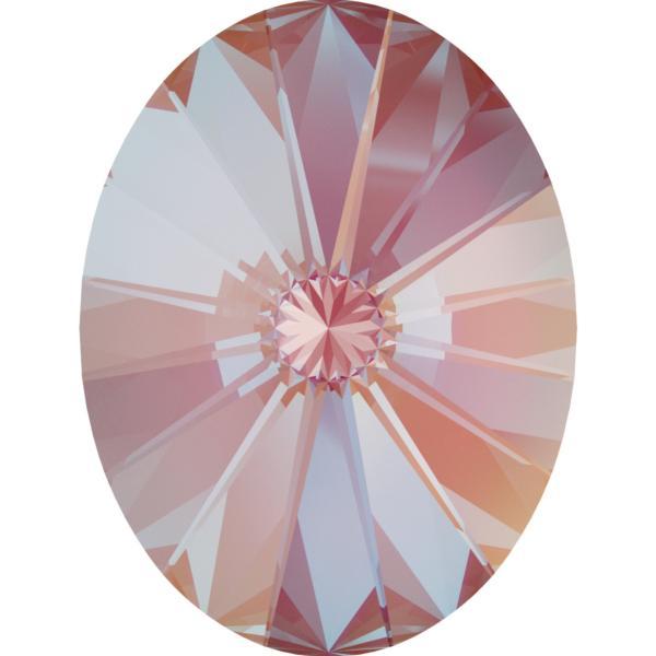 Swarovski 4122 Oval Rivoli Fancy Stone Crystal Lotus Pink DeLite 18x13.5mm
