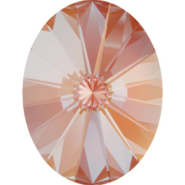 Swarovski 4122 Oval Rivoli Fancy Stone Crystal Orange Glow DeLite 8x6mm