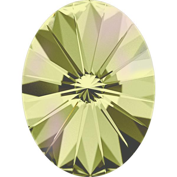 Swarovski 4122 Oval Rivoli Fancy Stone Crystal Luminous Green 8x6mm