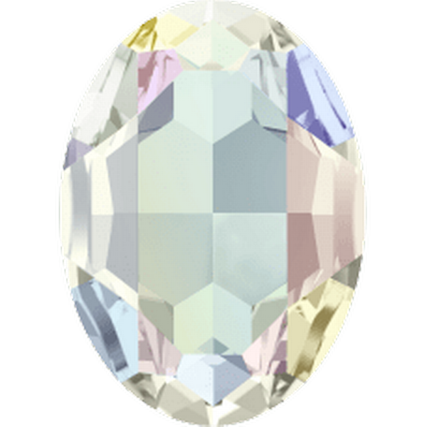 Dreamtime Crystal DC 4127 Large Oval Fancy Stone Crystal AB 30x22mm